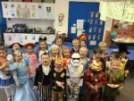 year 1B world book day